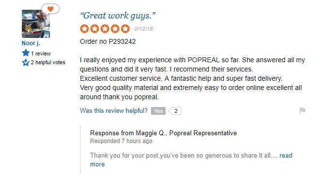 popreal review نقد